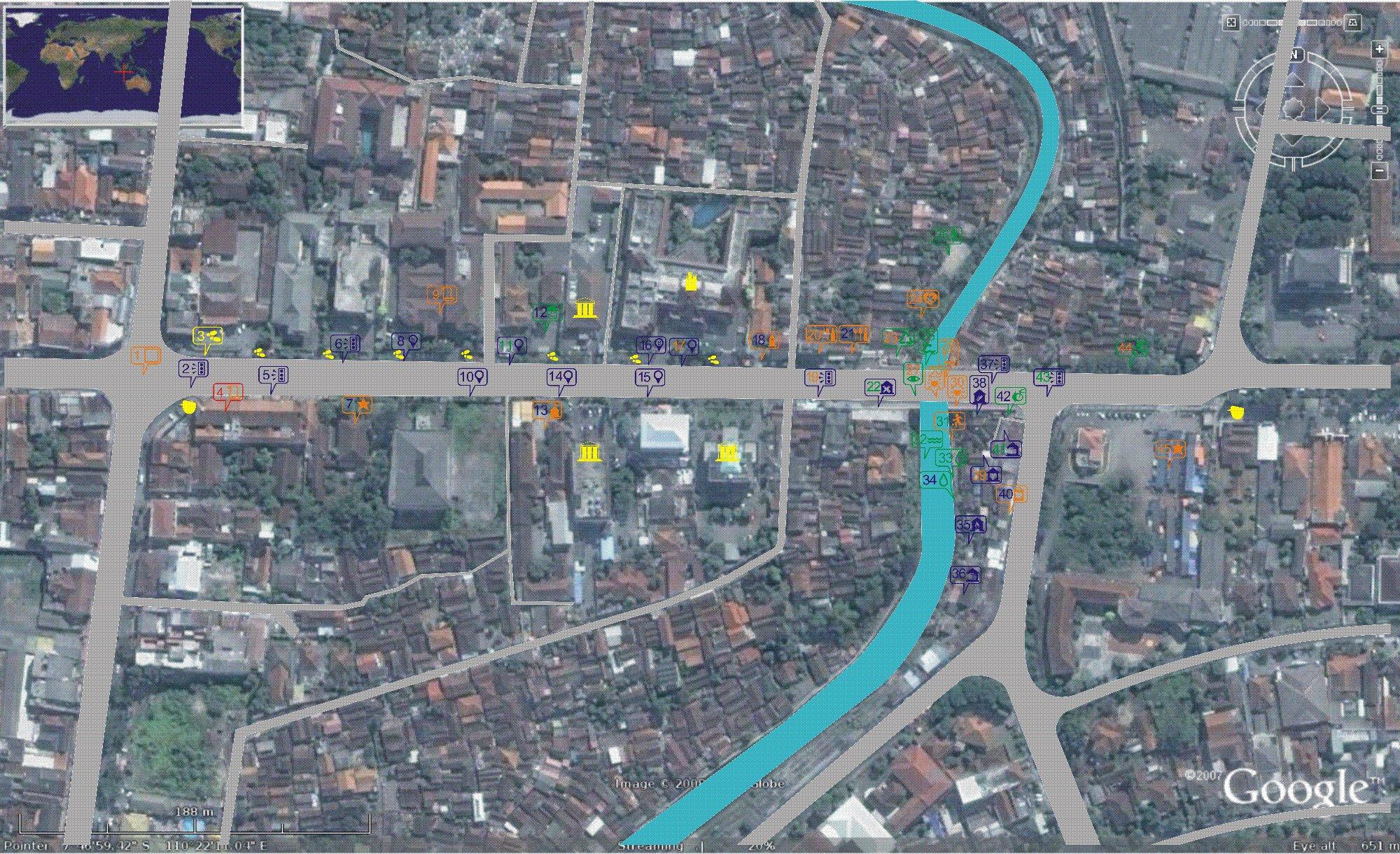 Green Map Code Gondolayu Yogyakarta Green Map System - Yogyakarta map