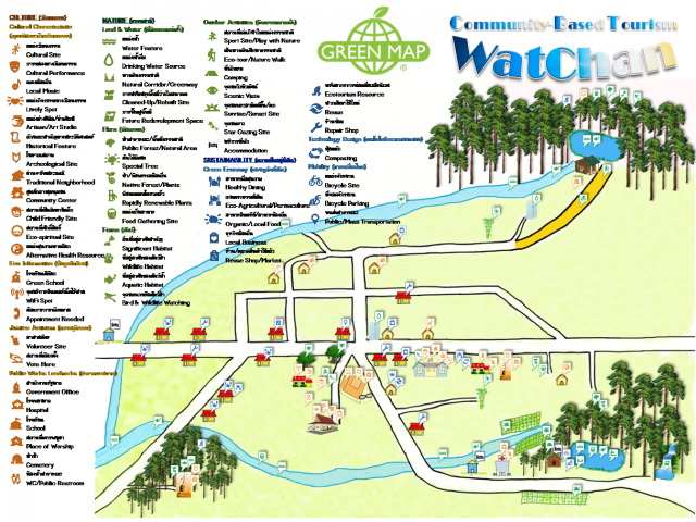 Ban Watchan Chiang Mai Green Map System