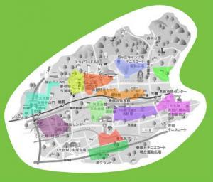 Owariasahi City Green Map Aichi Pref Green Map System - Japan map aichi