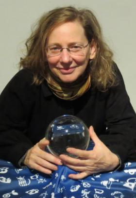 Wendy Brawer at the Papanek Social Design Awards in Vienna (photo by Peter Aiolovia, 2011)