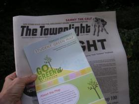 Towson University's Go Green Map