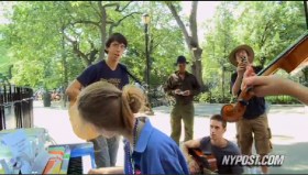 Tompkins Square Park Jam Session