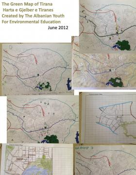 Green Map developed by hand