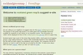 Welcome Rockland to suggest-a-site for our map!