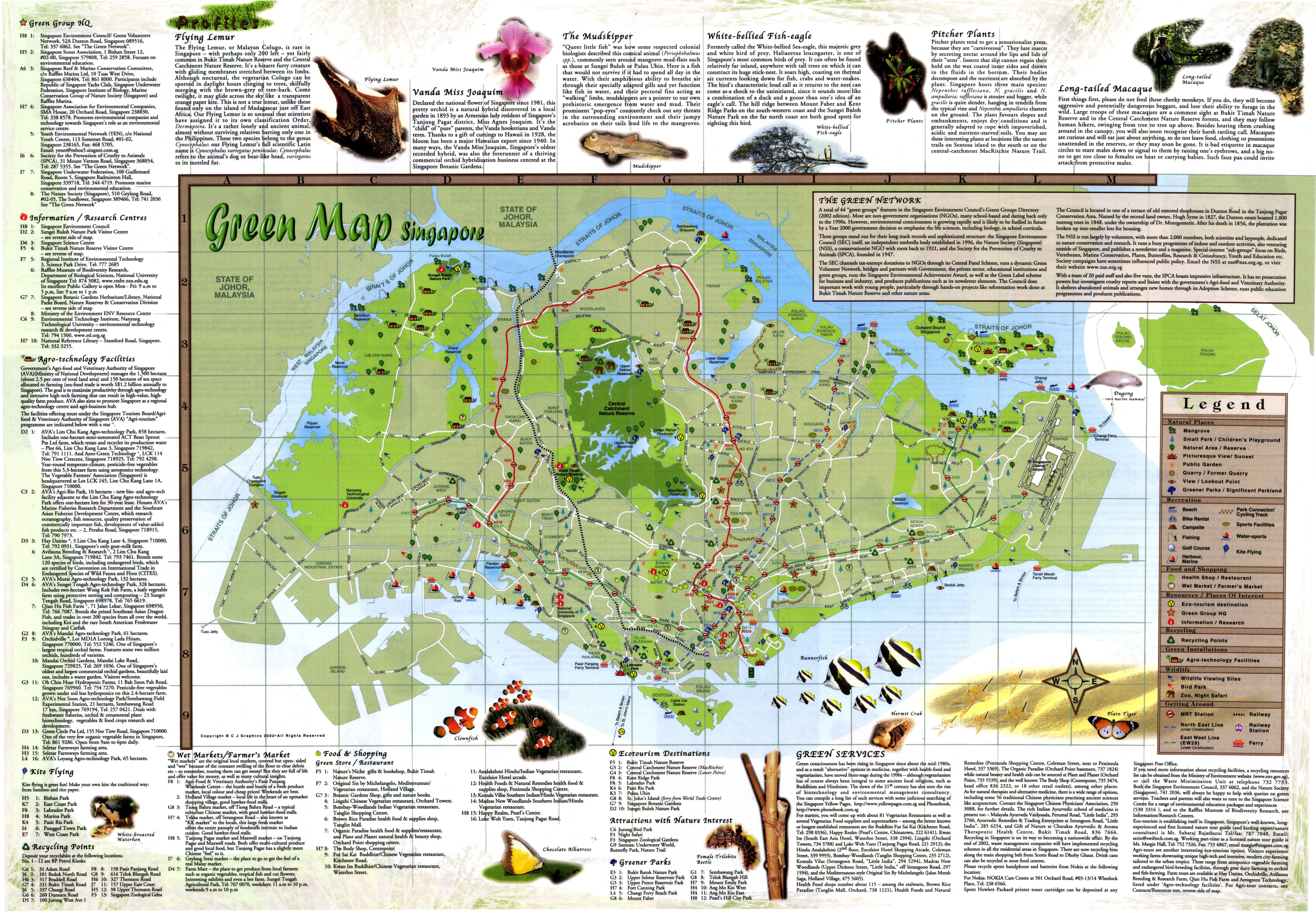 All Green Maps Green Map System - All maps