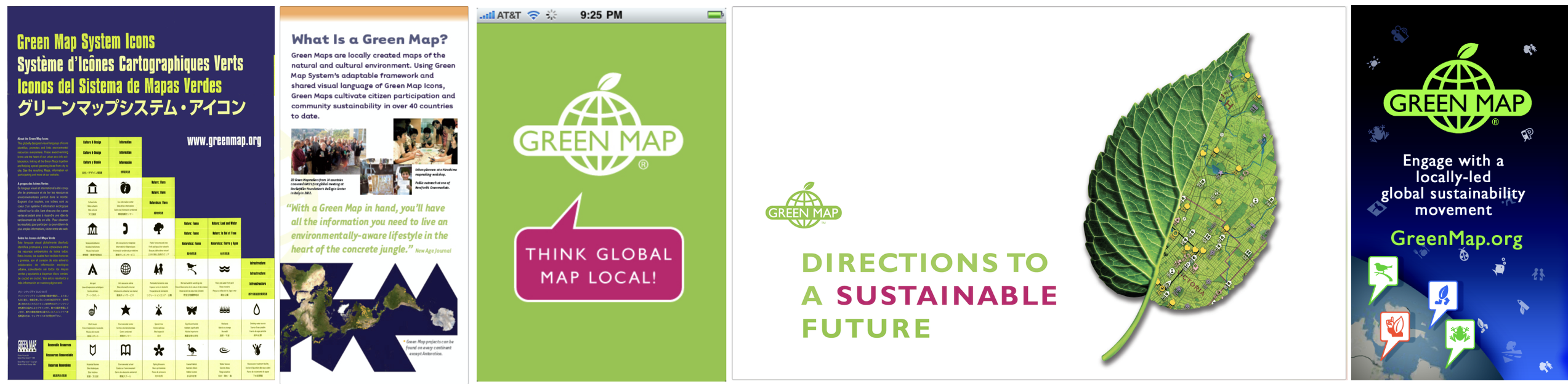 Designed by Green Mapmakers