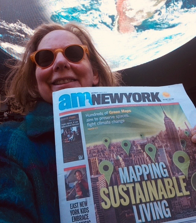 AM New York - Green Map is cover story