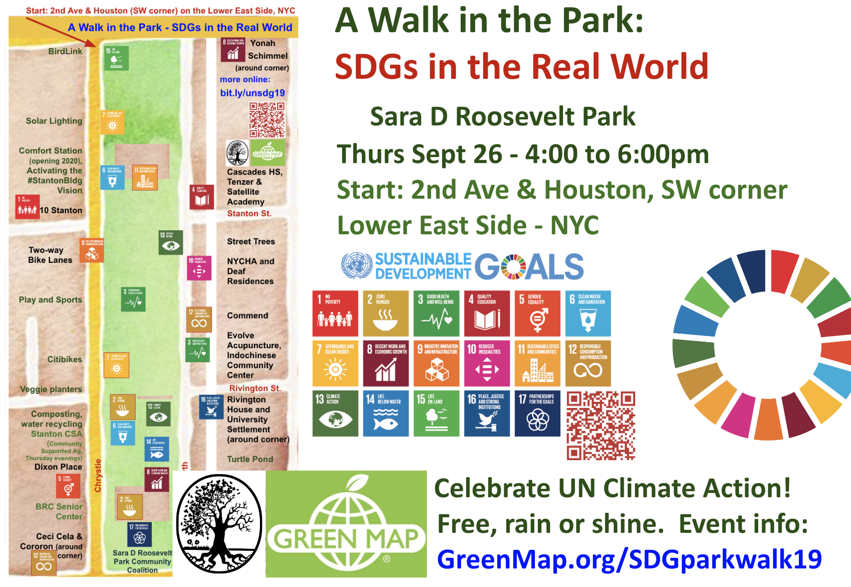 SDG Walk in the Park 9-26-19