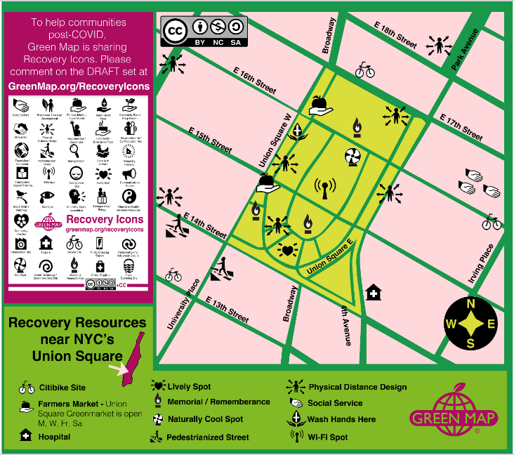 Recovery Map - Green Map test 2 Union Sq 4-20