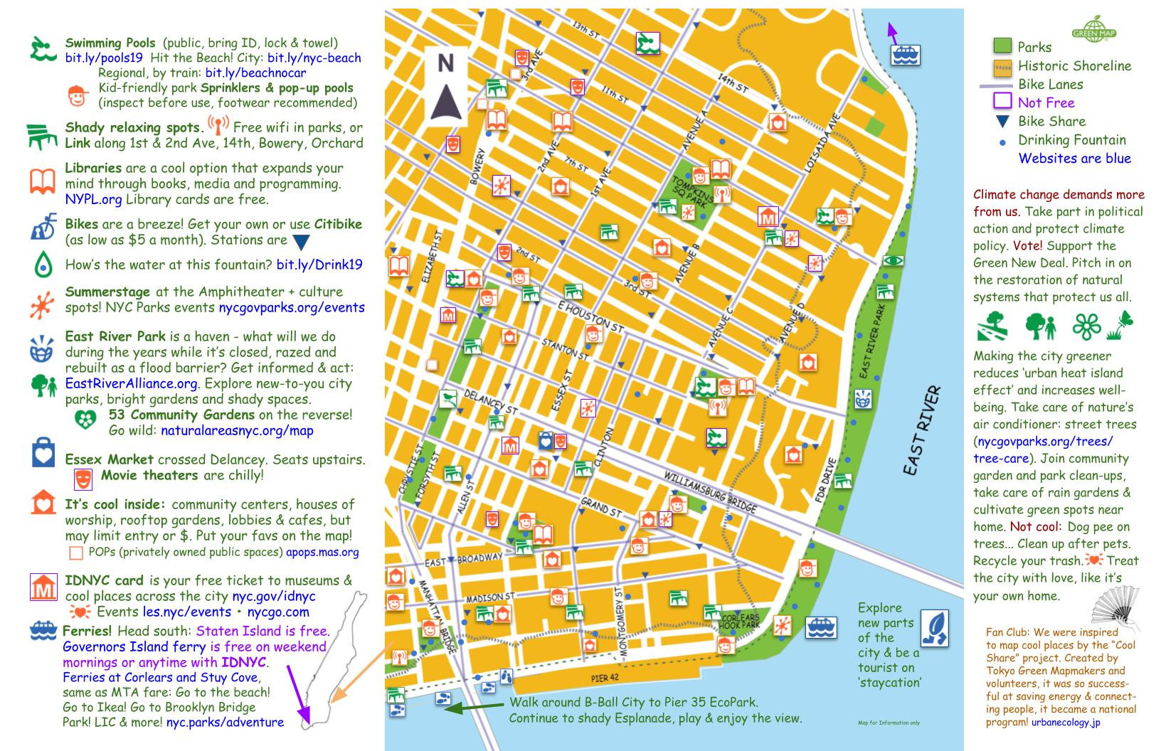 Refresh LES - the Cool Map of the LES