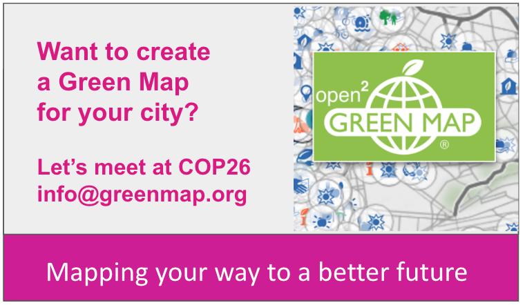 Meet Green Map at COP26