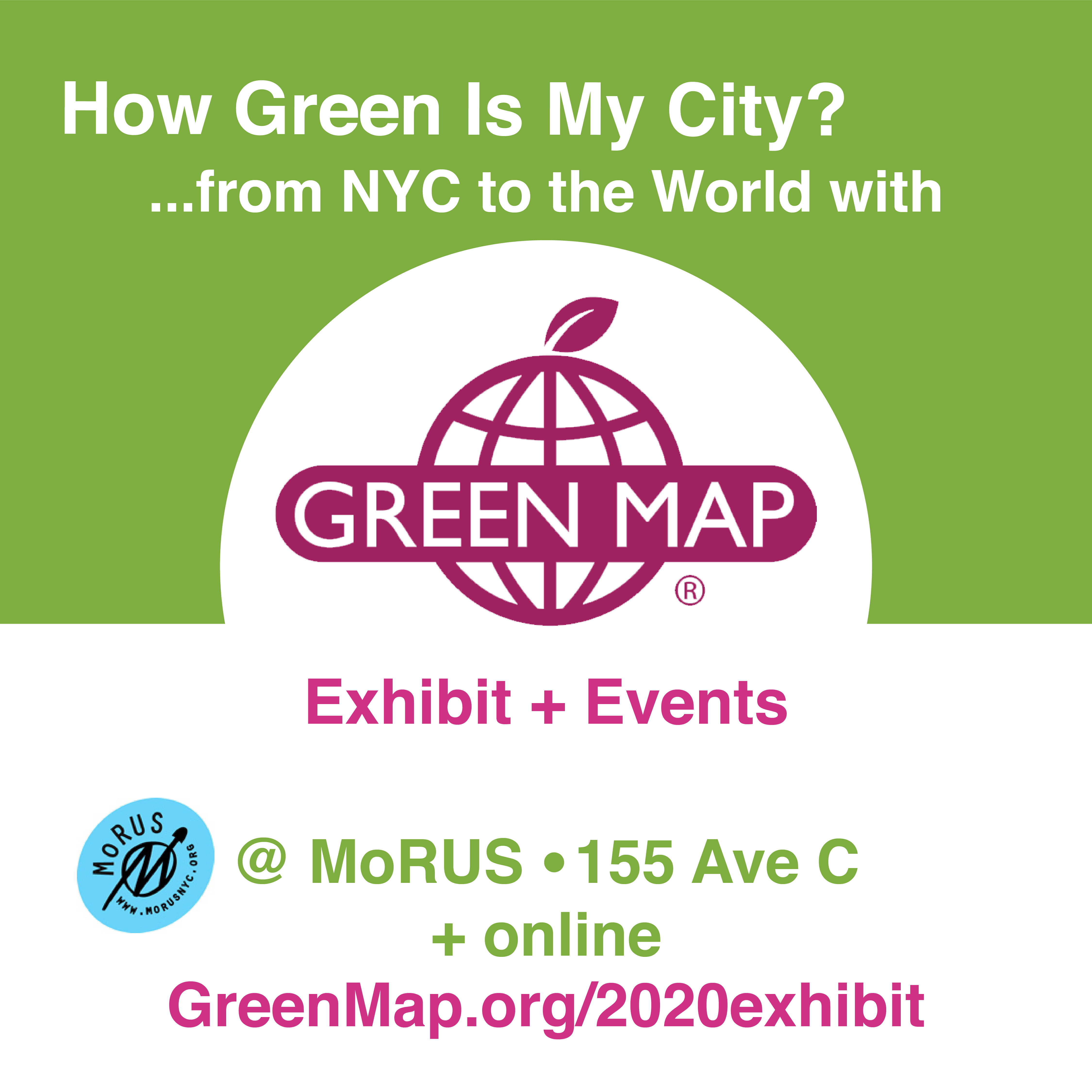 MoRUS Museum presents How Green Is My City  9 - 12 2020