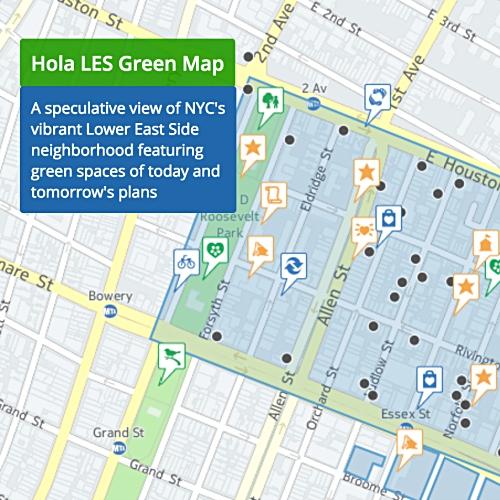 Hola LES Green Map | GreenMap.org