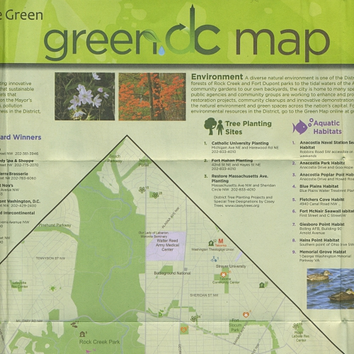 Washington DC Green Maps   GreenMap.org